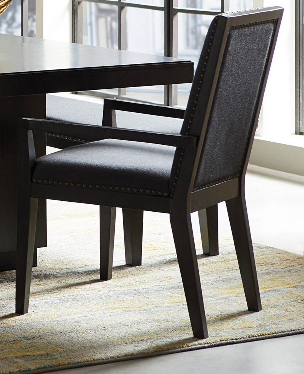 Larchmont Arm Chair - Charcoal