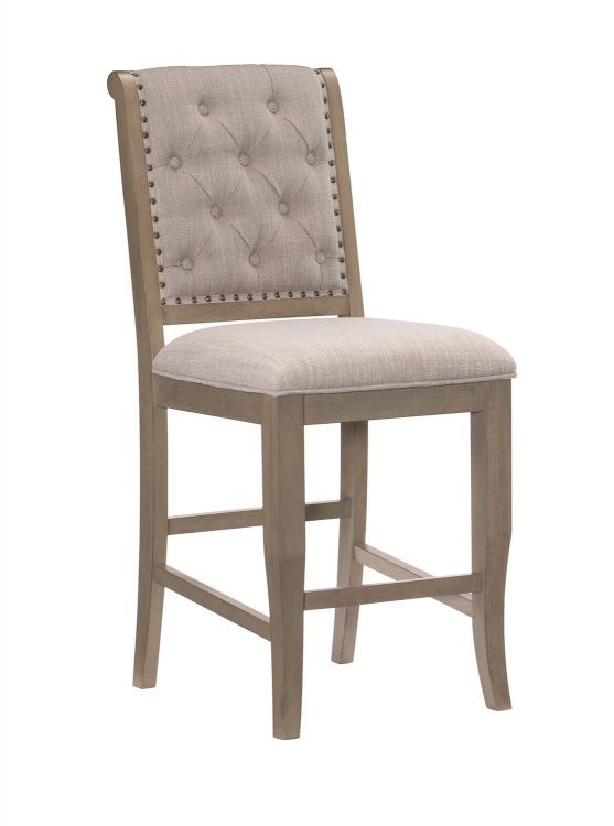Vermillion Counter Height Chair - Bisque