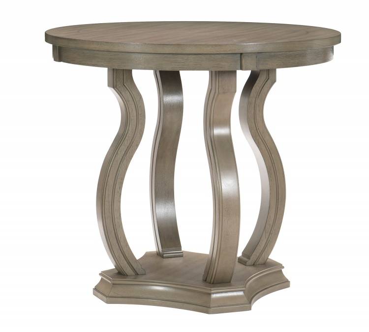 Vermillion Counter Height Table - Bisque