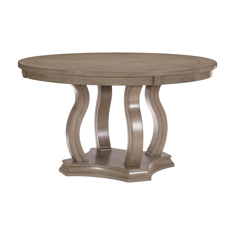 Vermillion Round Dining Table - Bisque