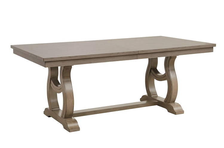 Vermillion Dining Table - Bisque