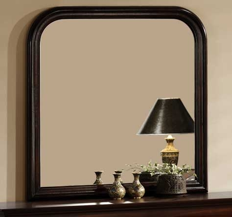 Chateau Brown Mirror - Homelegance