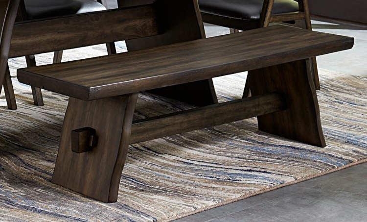 Cabezon Bench - Rustic Brown
