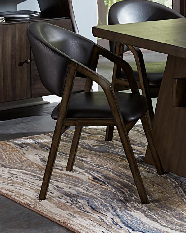 Cabezon Arm Chair - Rustic Brown