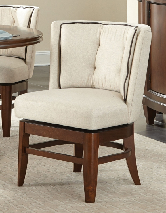 Oratorio Swivel Chair - Cherry