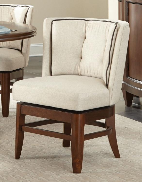 Oratorio Swivel Chair - Cherry