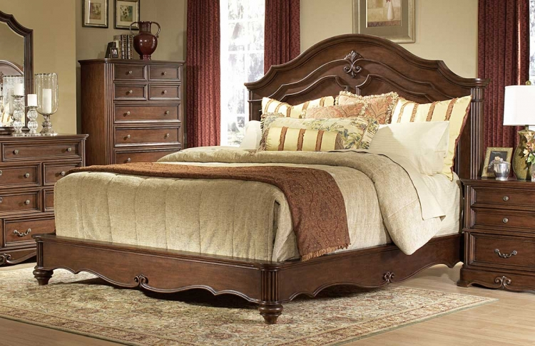 Stanfordson Panel Bed - Homelegance