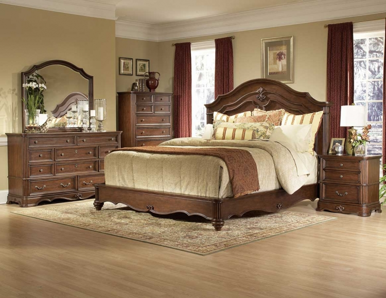 Stanfordson Panel Bedroom Set - Homelegance