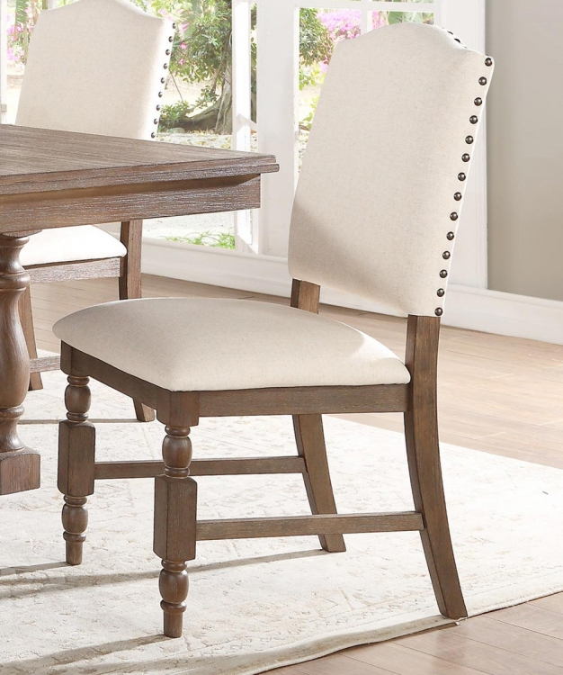 Chartreaux Side Chair - Natural Taupe