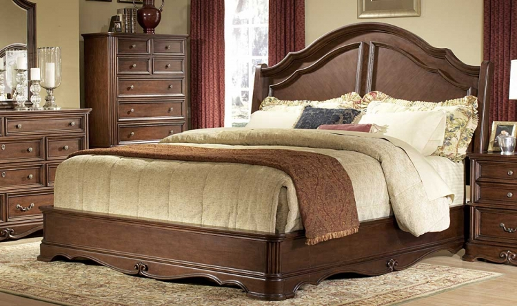 Stanfordson Sleigh Bed