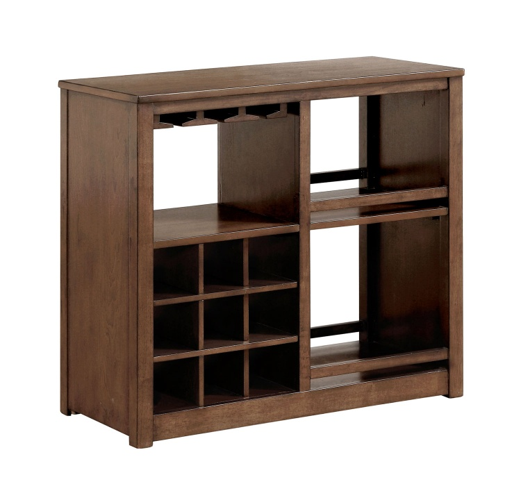 Brindle Server with Casters - Brown