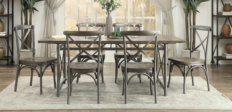Springer Dining Set - Weathered Gray