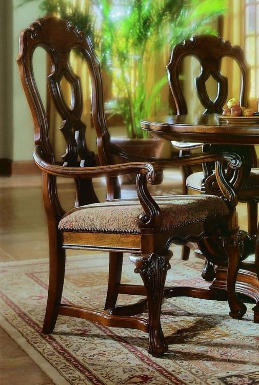 La Habana Side Chair Wood Back