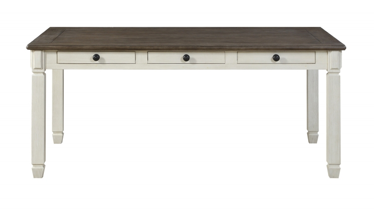 Willow Bend Dining Table - Antique White