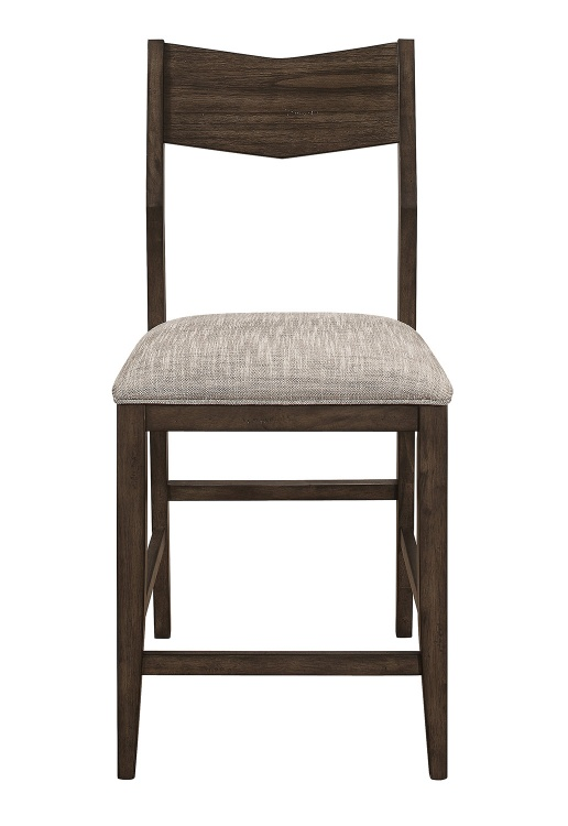 Kirke Counter Height Chair - Brown