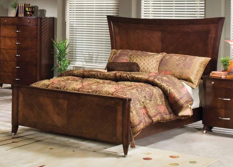 Levato Panel Bed