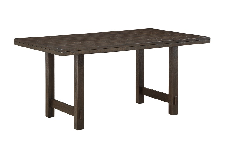 Brim Dining Table - Brown Cherry