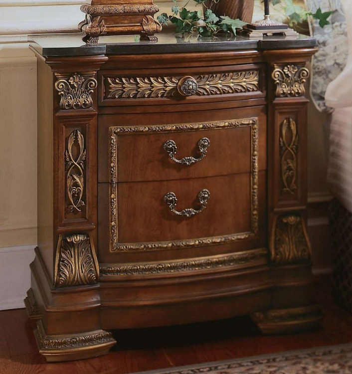 Royale Stone Top Nightstand