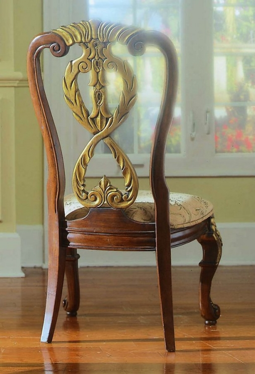 Royale Side Chair Wood Back