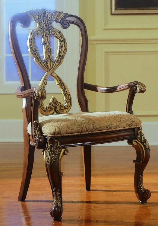 Royale Arm Chair Wood Back