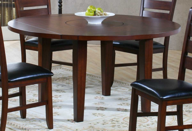 Ameillia Round Drop leaf Table - Homelegance