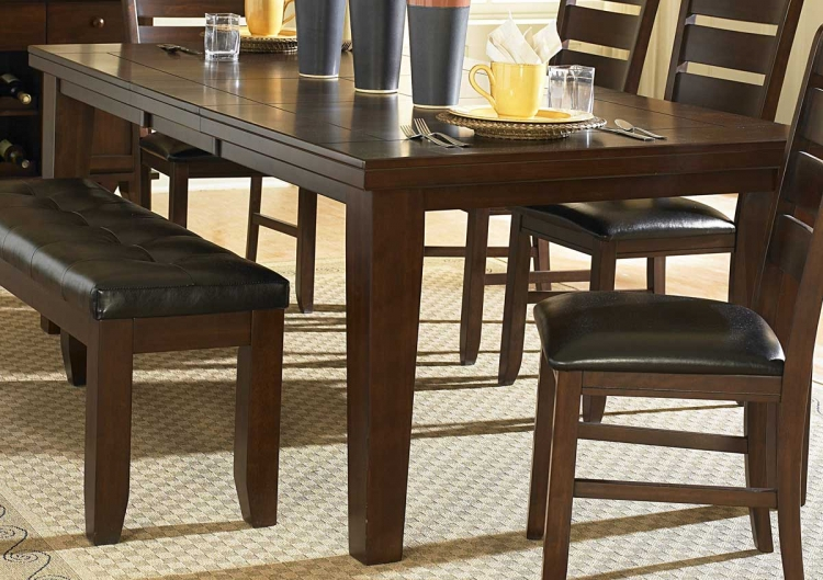 Ameillia Dining Table - Dark Oak Finish - Homelegance