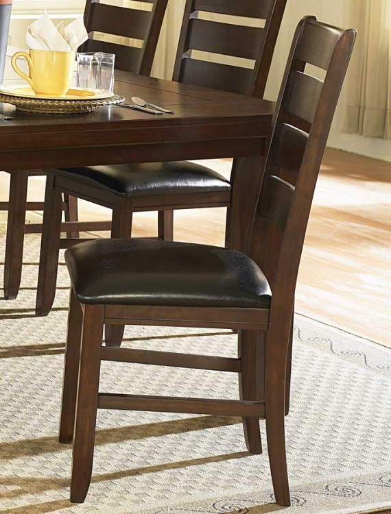 Ameillia Ladder Back Side Chair - Homelegance