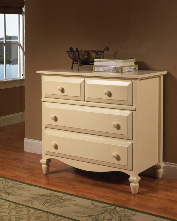 Mayfair Single Dresser White