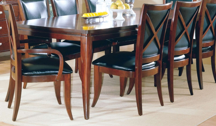 5th Avenue Dining Table with Two 18in Leaves