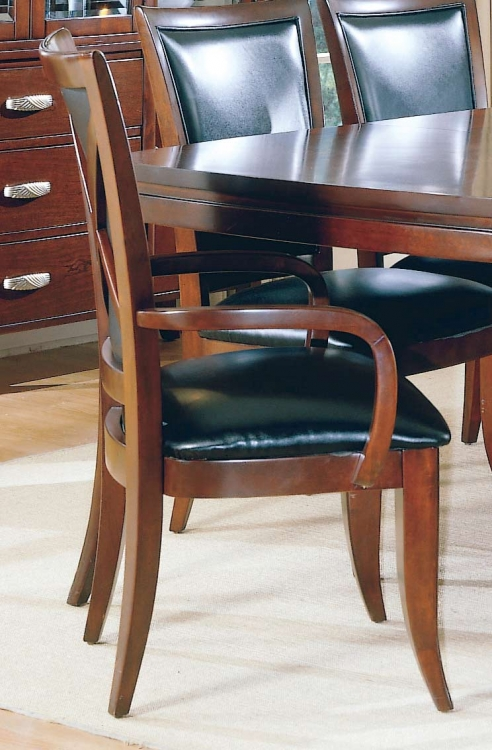 5th Avenue Leather Arm Chair