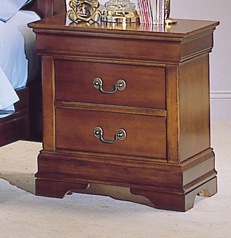 Antoinette 2 Drawer Night Stand-Homelegance