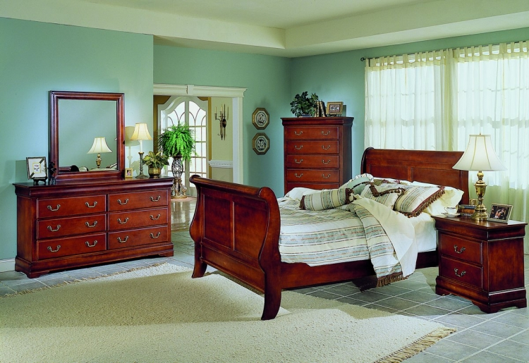Waller Bedroom Collection-Homelegance