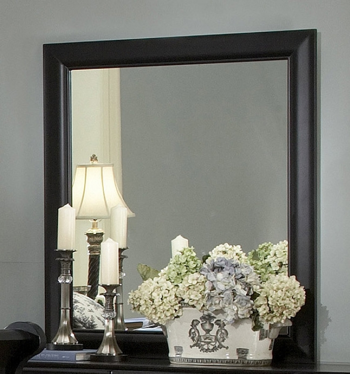 Bastille Mirror in Black-Homelegance