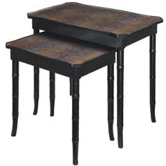 Boa Nesting Tables - Traditional Accents
