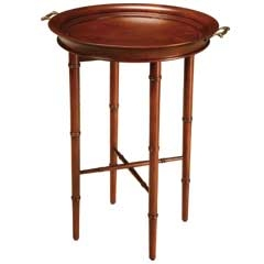 Bamboo Tray Table - Cherry - Traditional Accents