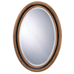 Classic Oval Mirror - Traditional Accents