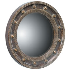 Porthole Mirror - Traditional Accents