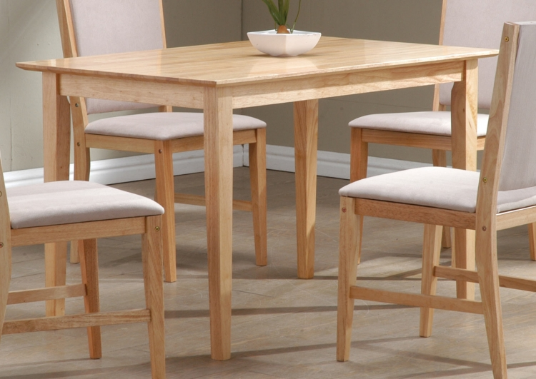 Milano Dining Table Natural Finish