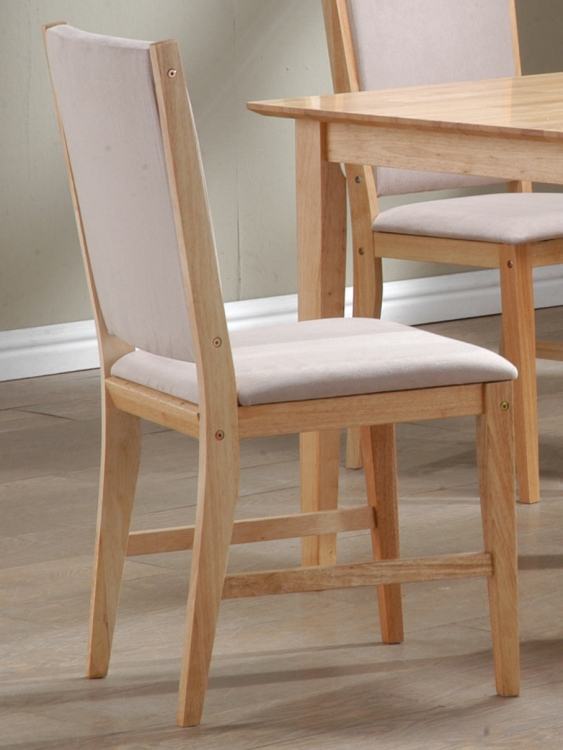 Milano Side Chair Natural Finish