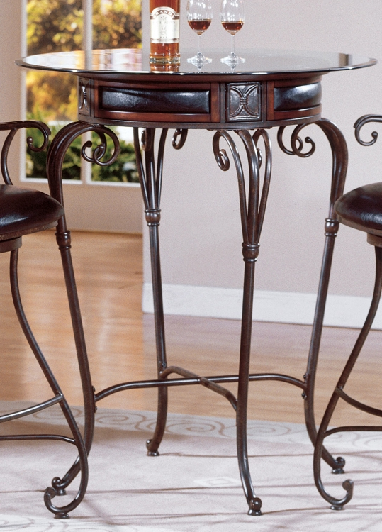 Rossete Pub Table-Homelegance