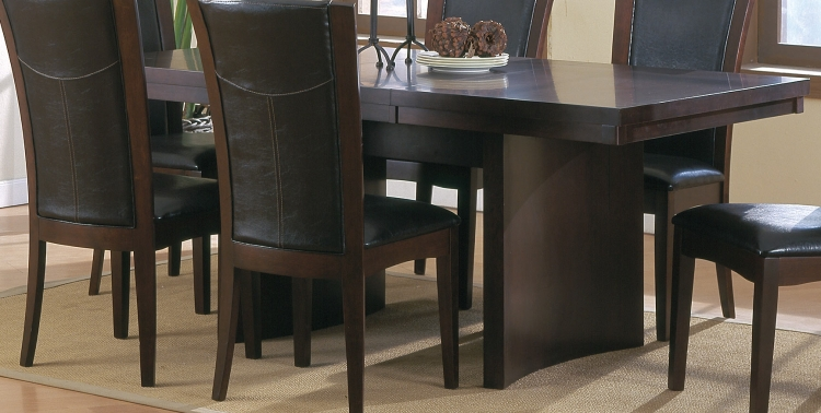 Daisy Trestle Dining Table-Homelegance
