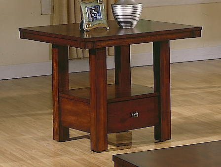 Daffodil End Table-Homelegance