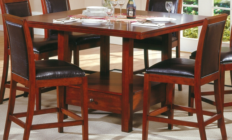 Achillea II Counter Height Dining Table-Homelegance