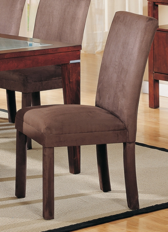 Homelegance Daffodil Microfiber Side Chair