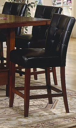 Daffodil Pub Chair Leather Match-Homelegance