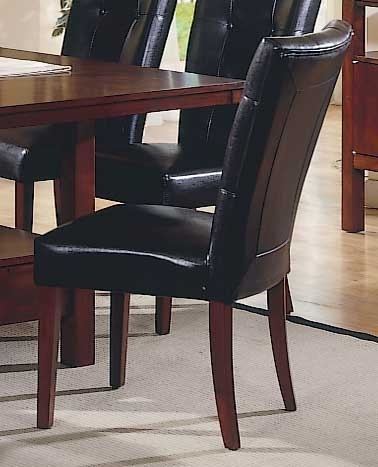 Achillea Leather Match Side Chair