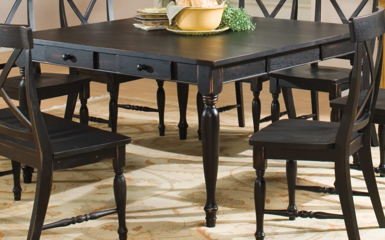 Expedition Dining Table with 18in Leaf