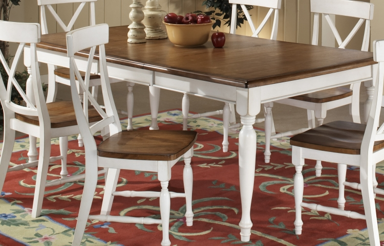 Expedition Dining Table White-Homelegance