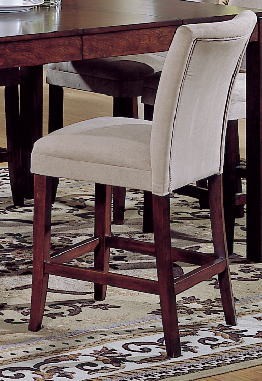 Achillea Pub Parson Chair-Peat Microfiber