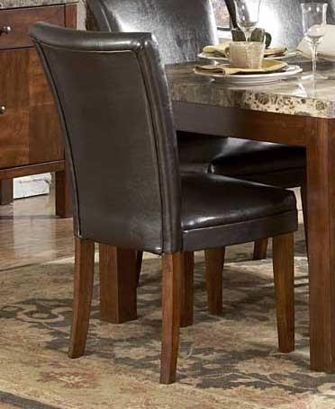 Achillea Parson Chair Leather Match
